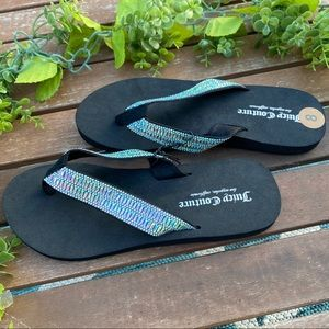 Women's Juice Couture Flip Flop Size 8